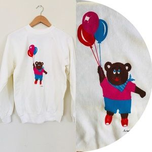 COPY - 🎈Vintage 80s Teddy Bear Sweatshirt Adult S…